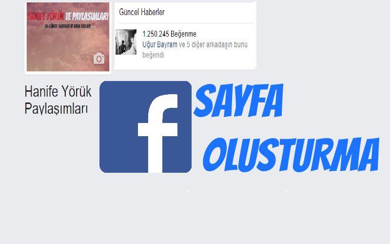 100 Bin Beğenili Facebook Sayfası Oluşturma - 2017
