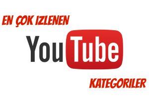 Youtube Türkiye'de En Çok Sevilen Kategoriler