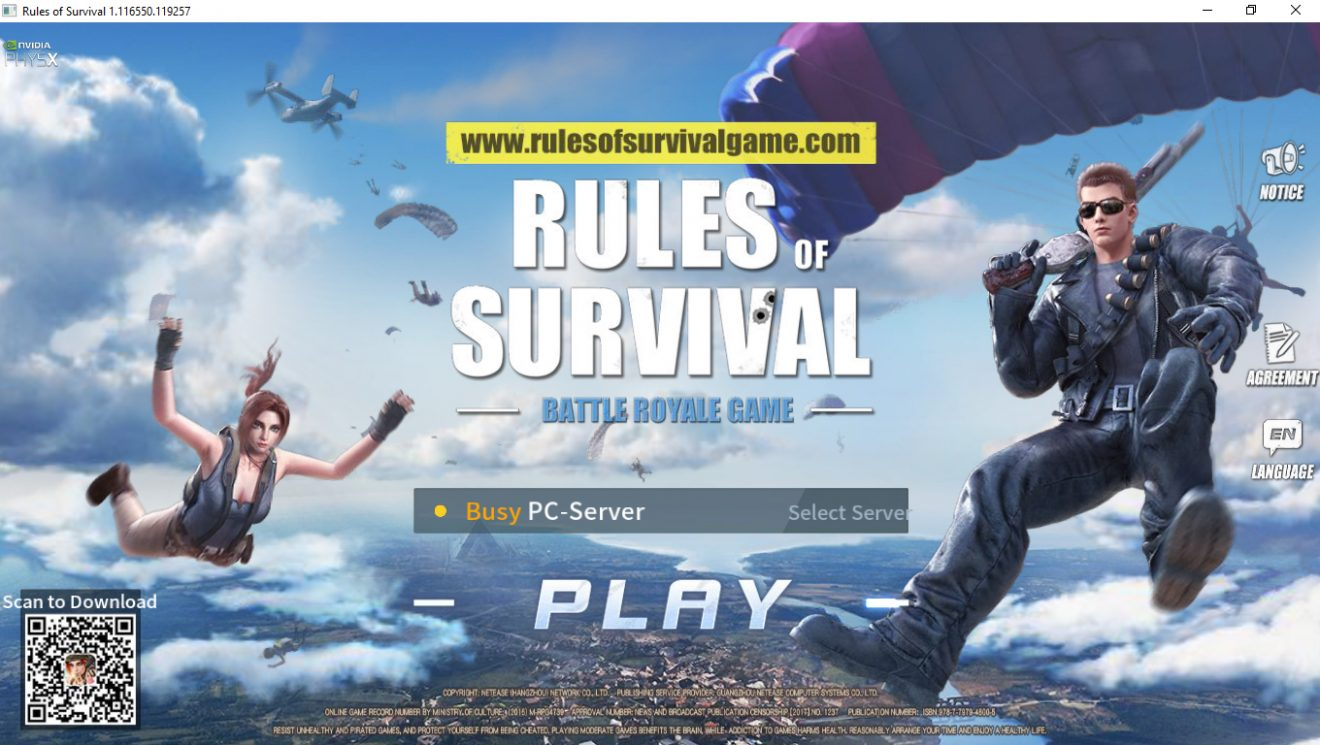 rules-of-survival-tam-ekran-oynama
